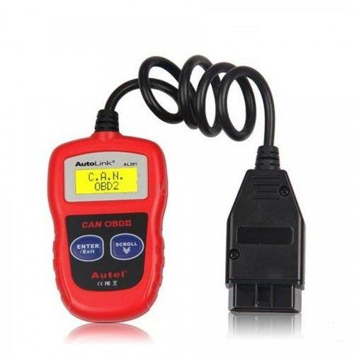 Autel AutoLink AL301 OBDIICAN Code Reader Clear DTCs Easiest-To-Sse Tool For DIY Customers