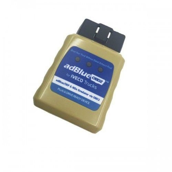 AdblueOBD2 Emulator for IVECO Trucks Plug And Drive Ready Device By OBD2