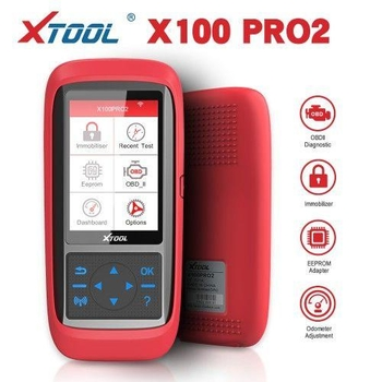 XTOOL X100 Pro2 Auto Key Programmer with EEPROM Adapter Support Mileage Adjustment