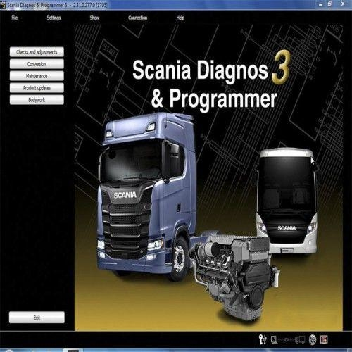 2017 Newest Scania VCI & VCI2 SDP3 V2.31.1 Software for TrucksBuses Without USB Dongle