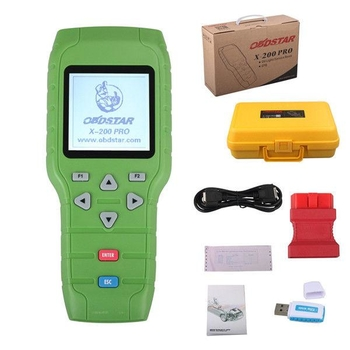 Original OBDSTAR X-200 X200 Pro A+B Configuration for Oil Reset + OBD Software + EPB US Ship