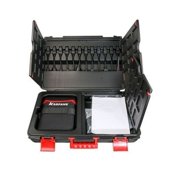 CAR FANS C800+ Diesel & Gasoline Vehicle Diagnostic Tool for Commercial Vehicle, Passenger Car,