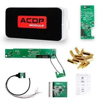 Yanhua Mini ACDP Module1 BMW CAS1-CAS4+ IMMO Key Programming and Odometer Reset Newly Add CAS4 OBD F