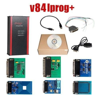 V83 Iprog+ Pro Programmer Support IMMO + Mileage Correction + Airbag Reset