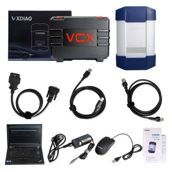 VXDIAG Multi Diagnostic Tool for Full Brands HONDAGMVWFORDMAZDATOYOTAPIWISSubaruVOLVO BMWBENZ with 2TB HDD & Lenovo T420
