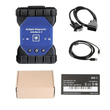 WIFI GM MDI 2 Multiple Diagnostic Interface with V2020.3 GDS2 Tech2Win Software Sata HDD for Vauxhall Opel Buick and Chevrolet