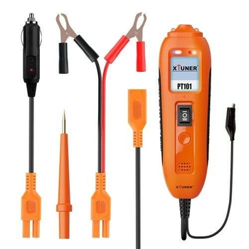 XTUNER PT101 12V/24V Power Probe Circuit Tester DC/AC Electrical System Diagnostic Tool Voltage Curr