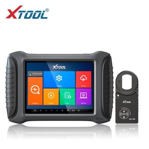 XTOOL X100 PAD3 X100 PAD Elite Professional Tablet Key Programmer With KC100 Global Version