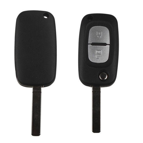 2 Buttons Folding Remote Key 433MHZ With 46 Chip for Renault