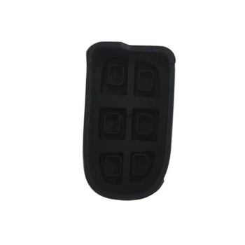 Button Rubber 3+1Button (Use for Dodge Chrysler Jeep) 5pcs/lot