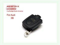3B 4DO 837 231 K 433.92Mhz For Europe South America for AUDI