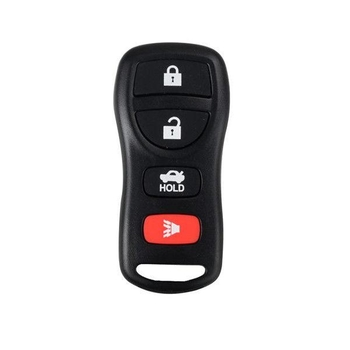 Remote 4 Button (315MHZ) for Nissan TIIDA 5pcs/lot