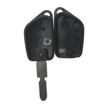 Remote Key Shell 2 Button For Peugeot 406 5pcs/lot