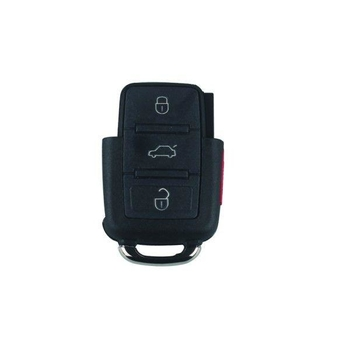 Remote Shell (3+1) Button for VW 10pcs/lot