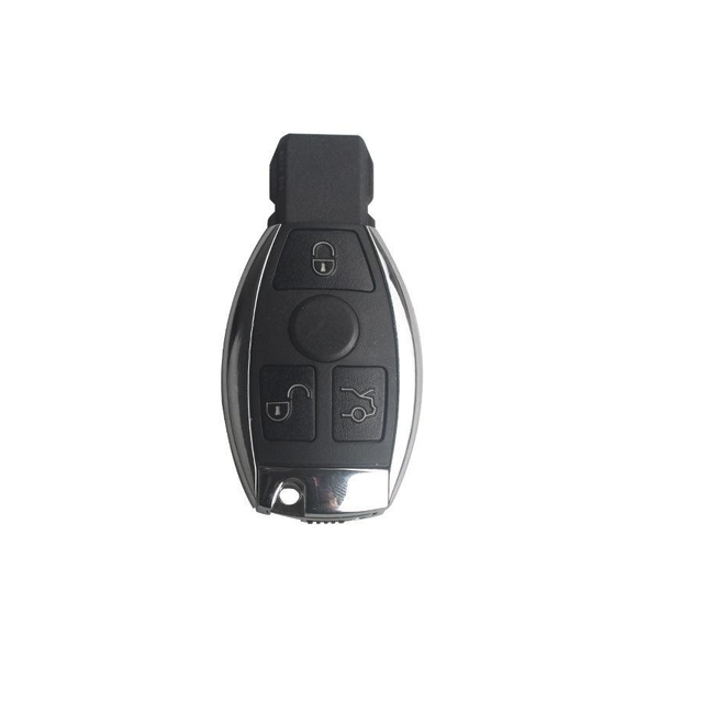 Remote Key Shell 3 Buttons 433mhz for Mercedes-Benz Waterproof