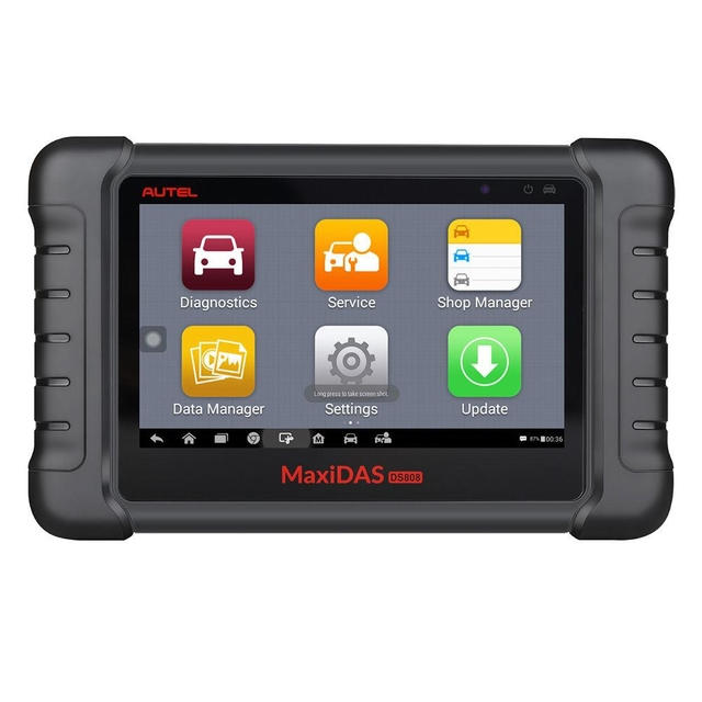 Original Autel MaxiDAS DS808K Tablet Diagnostic Tool Full Set Support Injector Coding & Key Coding