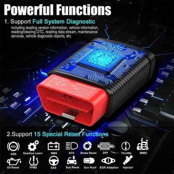 ThinkCar Pro Thinkdiag Mini Bluetooth Full System OBD2 Scanner Get 5 Free Car Software