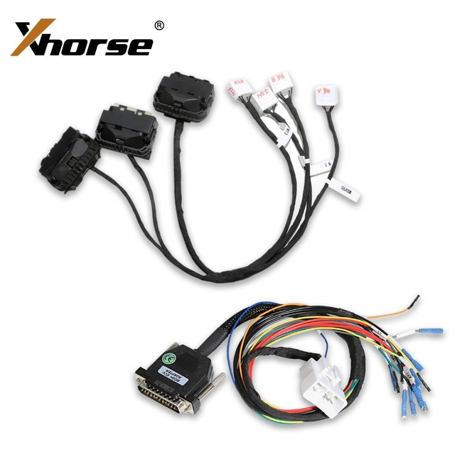 Xhorse BMW DME Cloning Cable with Multiple Adapters B38 - N13 - N20 - N52 - N55 - MSV90 Work with VVDI PROG